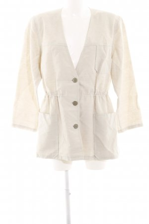 Blouse Jacket oatmeal-beige flecked casual look