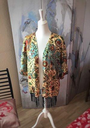 Blusenjacke in Kimonostil