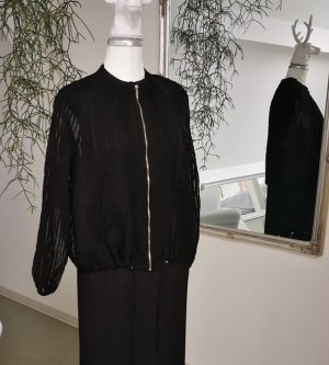 Blusenjacke transparente Streifen