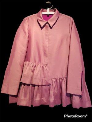 COS Chaqueta tipo blusa rosa-violeta
