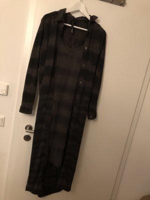 10 Days Blouse Dress khaki-grey brown