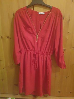 Colloseum Robe tunique rouge