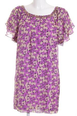 Blusenkleid Blumenmuster Casual-Look