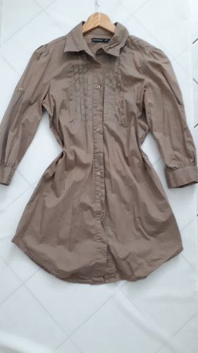 Blusenkleid Bluse gr s in Taupe