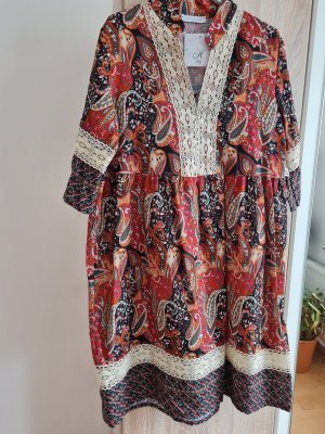 Blusenkleid Boho Kleid Gr.40