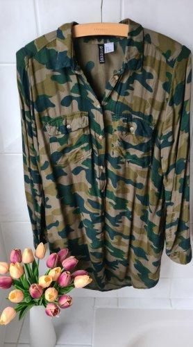 Blusenkleid Camouflage