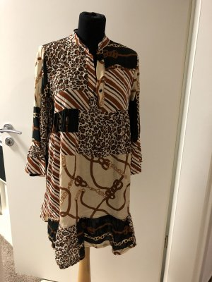 Shirtwaist dress multicolored