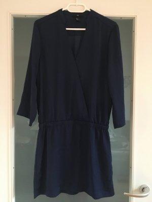 Blusenkleid dunkelblau