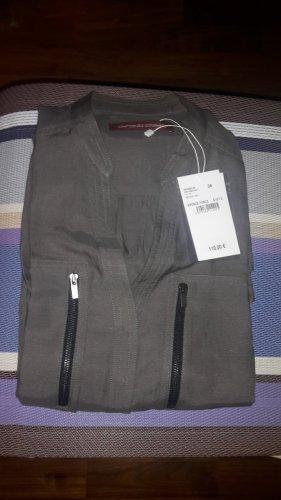 Comptoir des Cotonniers Vestido camisero caqui