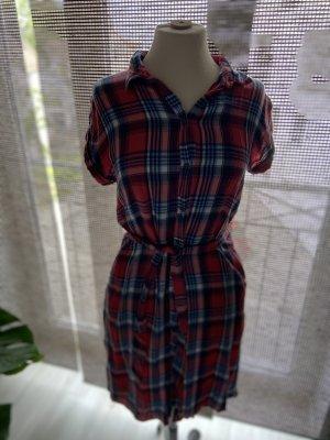 Blusenkleid / Hemd Karo lang