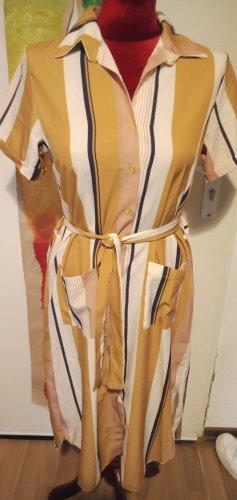 Blusenkleid Hemdblusenkleid Midikleid Impressionen S/M
