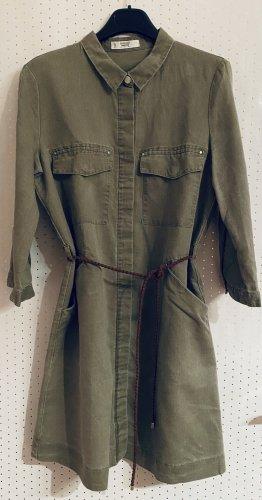 Blusenkleid in Grün