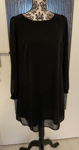 Blusenkleid in schwarz neu