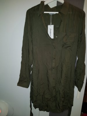 Blusenkleid Khaki