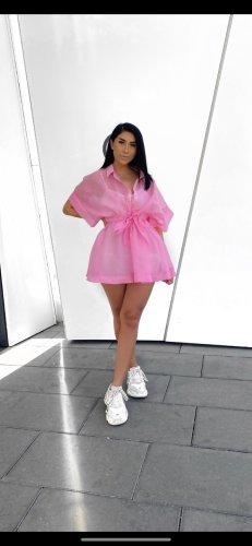 Blusenkleid Kleid in rosa