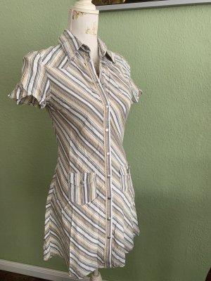Blusenkleid * Kurzes Kleid* Gr.36* gestreift