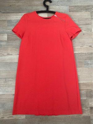 Zara Robe chemisier rouge