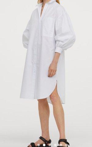 H&M Abito blusa bianco