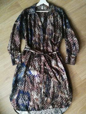Blusenkleid mit Seide