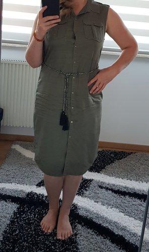 Blusenkleid Only Gr. 40 / L khaki Sommerkleid Kleid