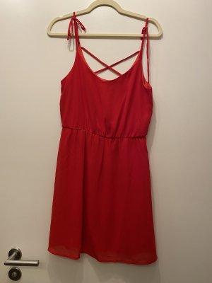 Blusenkleid rot Größe s