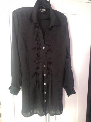 Blusenkleid schwarz neu