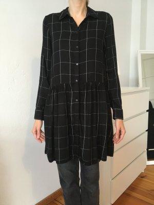 Blusenkleid schwarz-weiß Promod