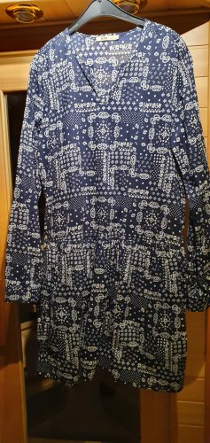 Big Star Blouse Dress dark blue