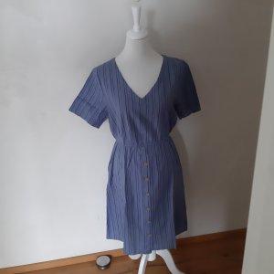 Blend She Robe chemisier bleu pâle-bleu foncé