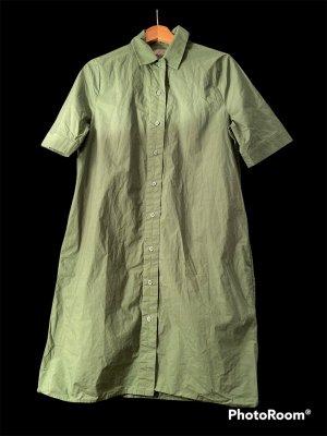 COS Vestido camisero verde bosque