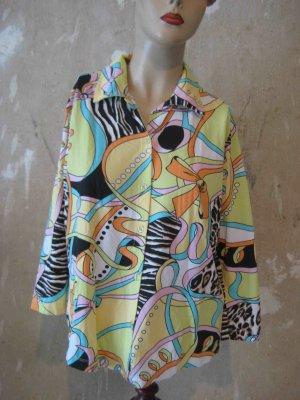 Passport Blouse Shirt multicolored polyamide
