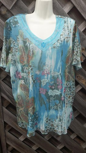 unknown Blouse Shirt multicolored polyester