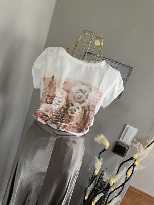 Blusenshirt Bohoo Frauenprint Gr M