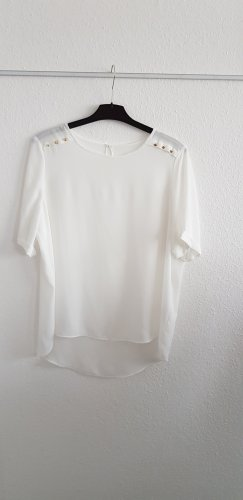 Atmosphere Silk Blouse white