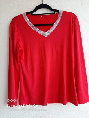 0039 Italy V-Neck Shirt multicolored