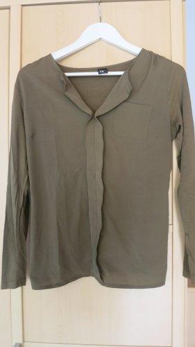 Blusenshirt in khaki