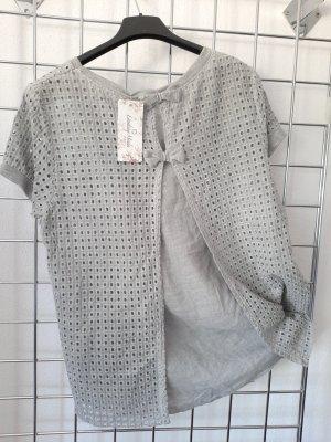 Blusenshirt # Lochmuster #