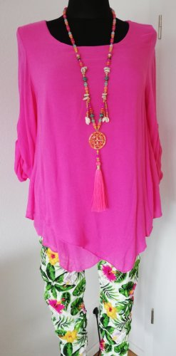 Made in Italy Shirt Tunic pink