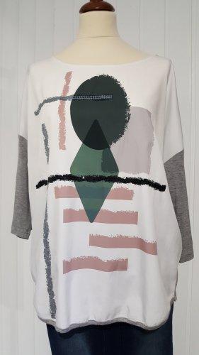 Blusenshirt mit grafischem Design