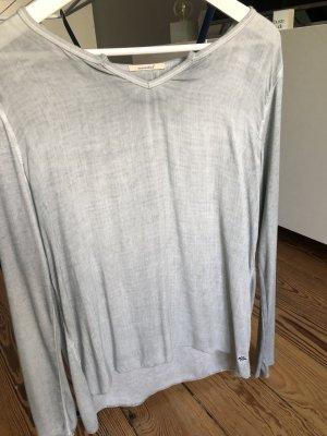Pepe Jeans Bluzka o kroju koszulki jasnoszary-szaro-zielony