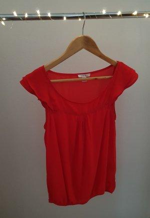 Blusenshirt rot Größe XS/34 von Amisu
