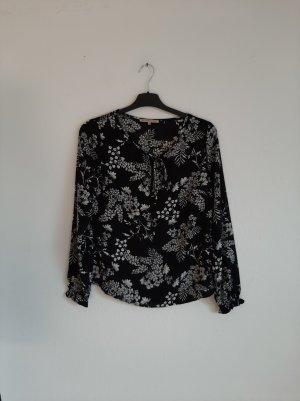 Blusenshirt schwarz weiß