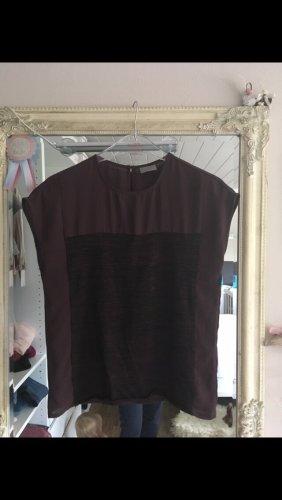 Blusenshirt von Vero Moda in bordedaux Größe XS