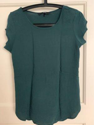 Blusenshirt Waldgrün Vero Moda