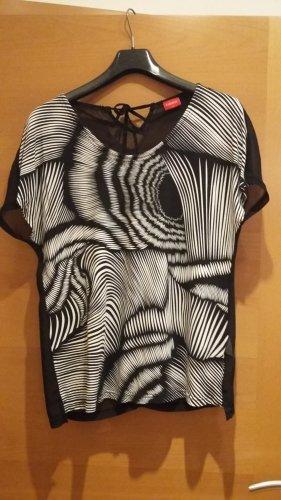 Blusenshirt zebra-print