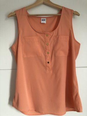 Vero Moda Blouse topje abrikoos Polyester
