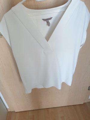 H&M Top koszulowy biały
