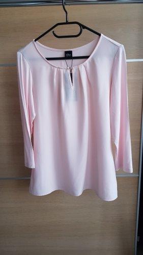 Black Label Blouse Top pink