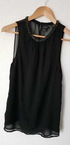 Blusentop schwarz Gr. L (38/40)
