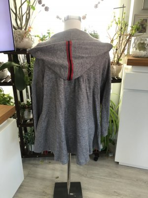 Denim Blazer grey-red